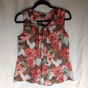 Talbots silk sleeveless blouse size 12